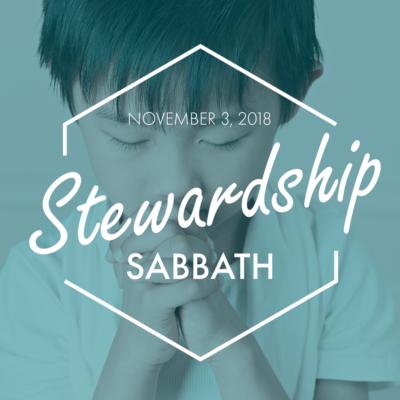 2018 Stewardship Sabbath